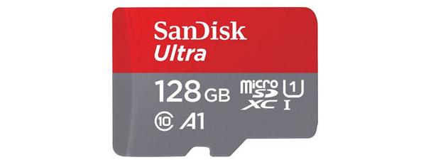 SanDisk A1 Ultra Micro SDXC UHS-1 128 GB