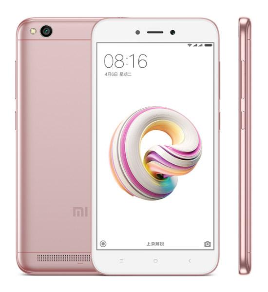 Xiaomi Redmi 5A розовый цвет