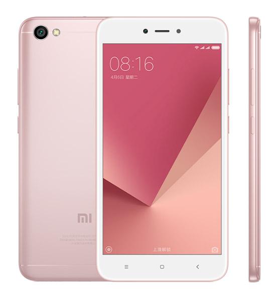 Xiaomi Redmi Note 5A розовый цвет