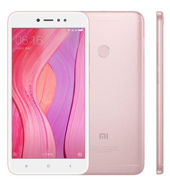 Xiaomi Redmi Note 5A со сканером отпечатков пальцев розовый