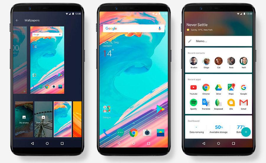 OnePlus 5T экран