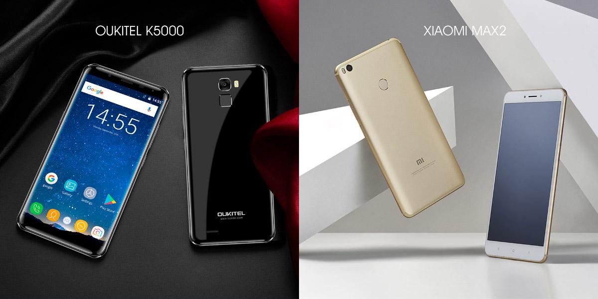 Oukitel K5000 или Xiaomi Mi Max 2