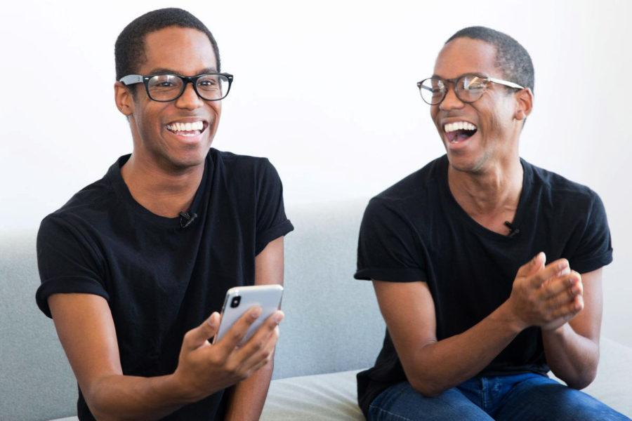 Работа Face ID на iPhone X с близнецами