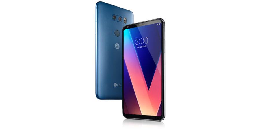 LG V30 Plus синий