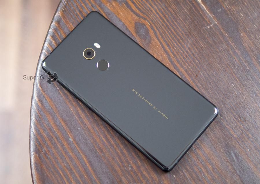 Xiaomi Mi MIX 2 без чехла
