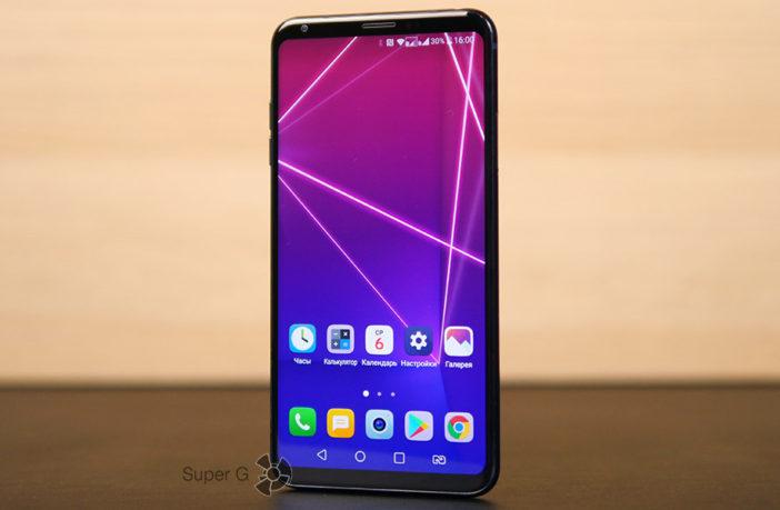 Большой обзор смартфона LG V30+
