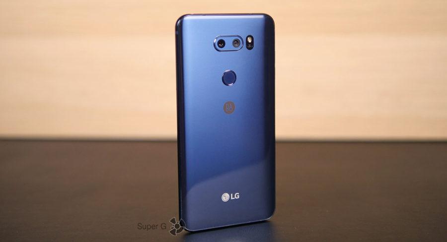 Тестирование LG V30+