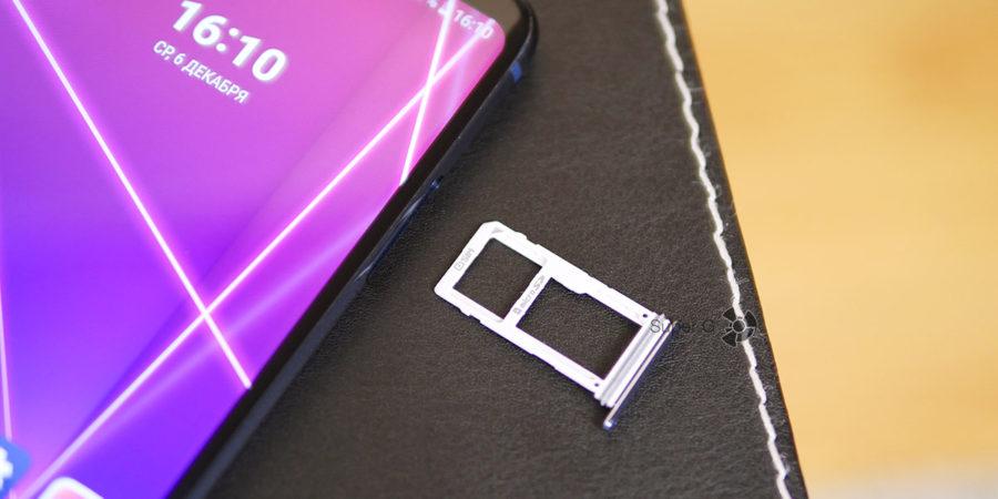 Лоток под SIM-карты LG V30+