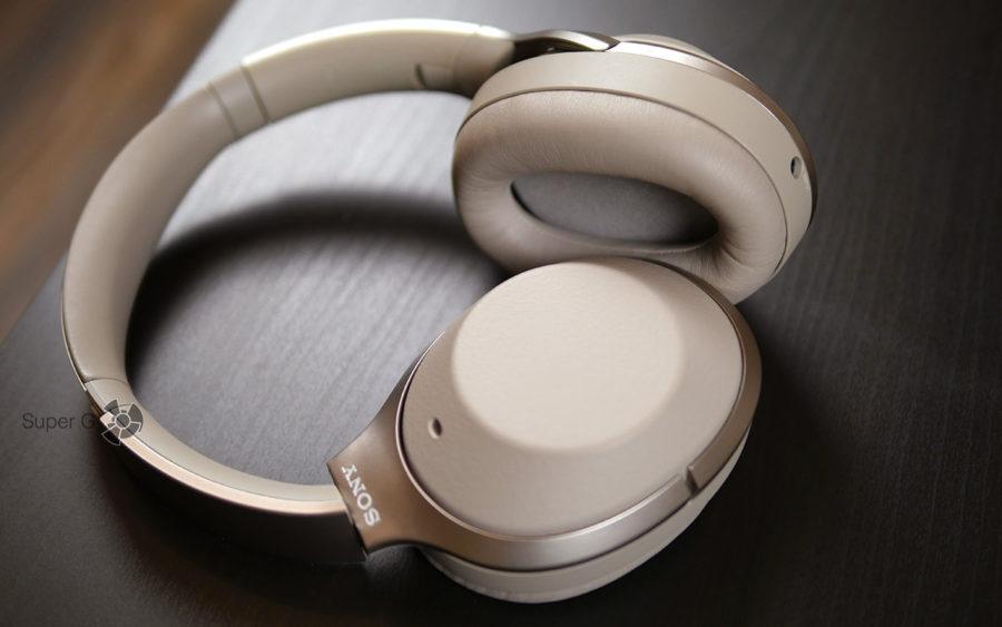 Эко-кожа наушников Sony WH-1000XM2