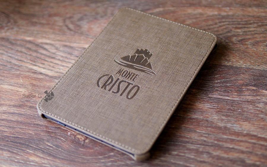 Чехол для ONYX BOOX Monte Cristo 3 из комплекта очень качественный