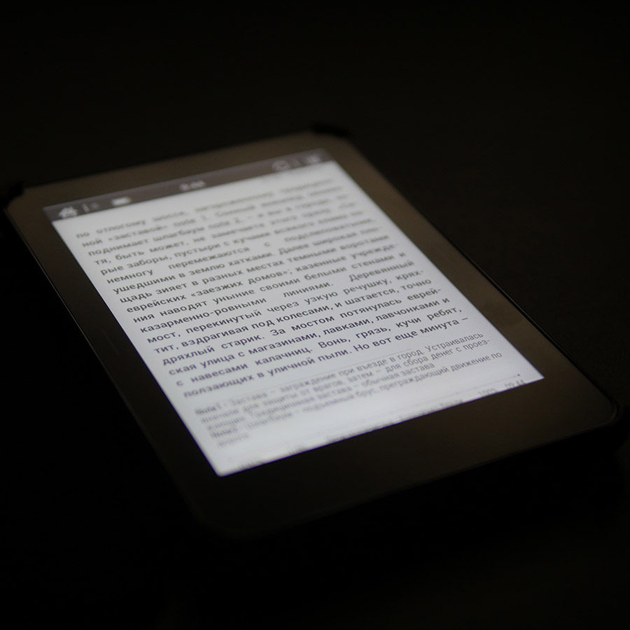 Как работает подсветка MOON Light в электронной книге ONYX BOOX Monte Cristo 3