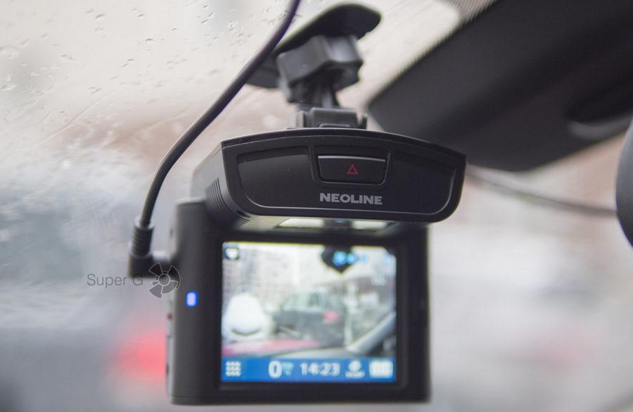 Кнопка экстренной записи или фотосъёмки Neoline X-COP 9700s