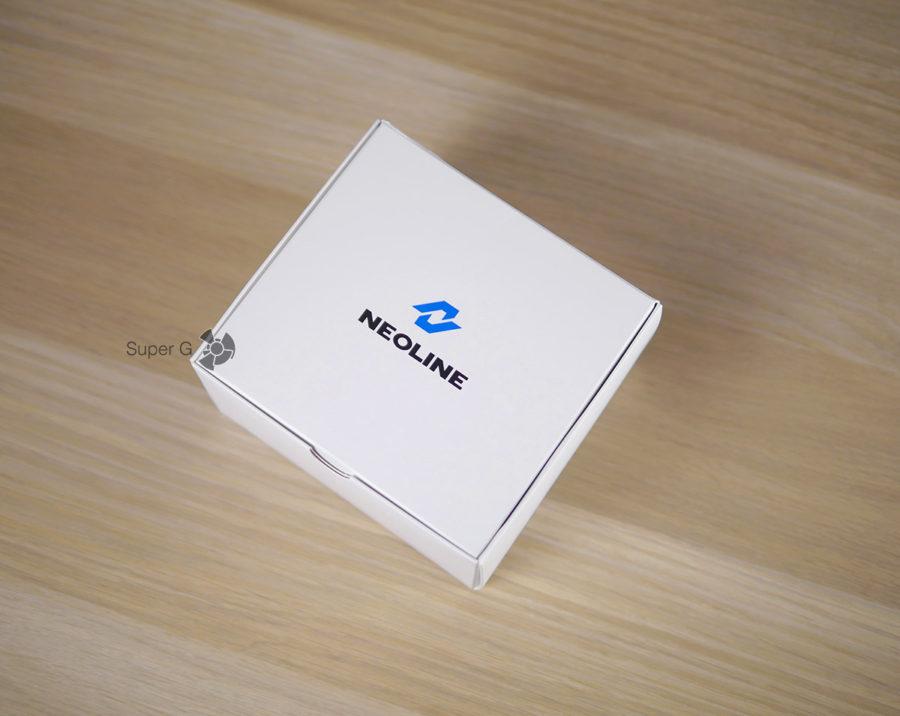 Коробка из-под Neoline X-COP 9700s