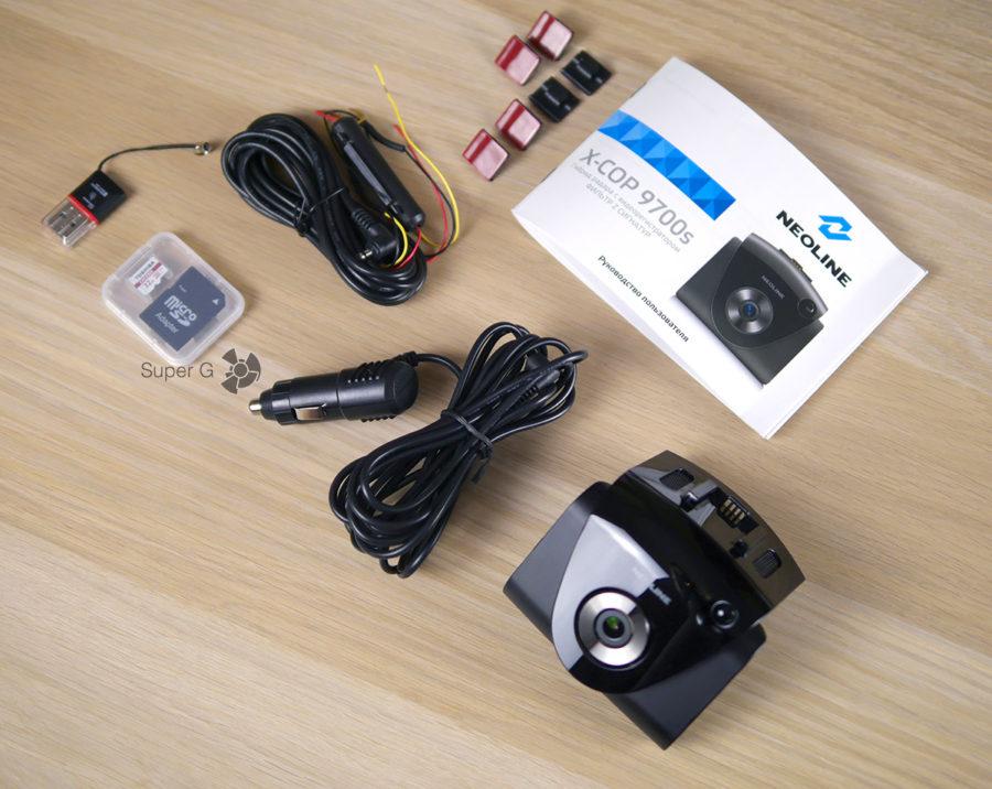 Комплектация Neoline X-COP 9700s