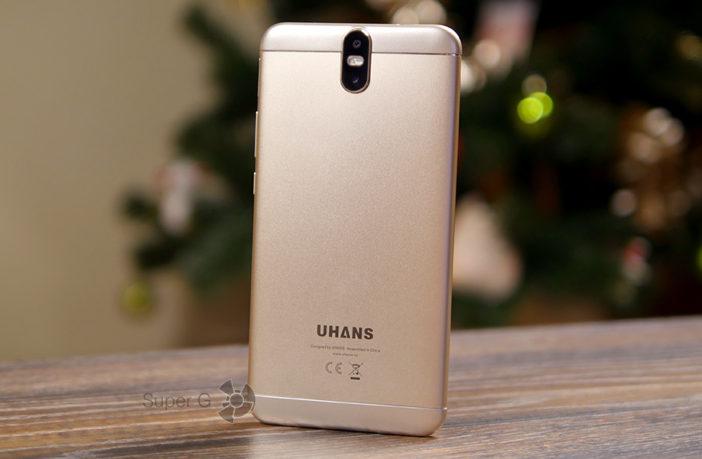 Обзор смартфона UHANS Max 2