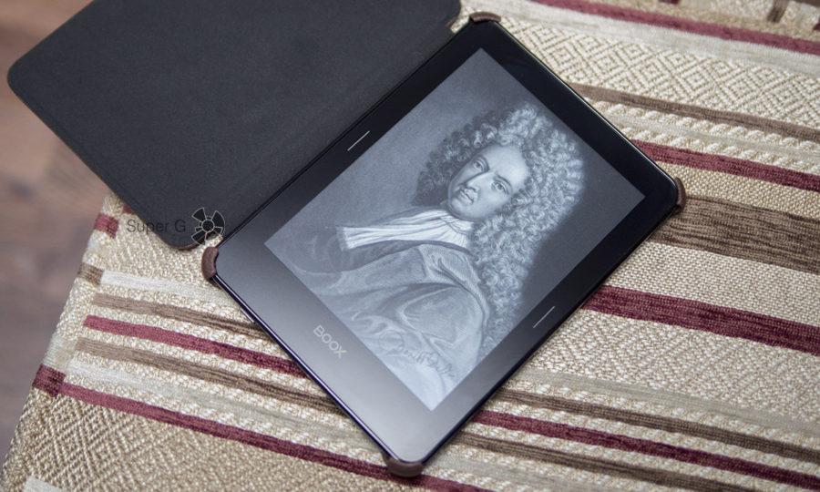Экран ONYX BOOX Robinson Crusoe 2 на основе электронных чернил