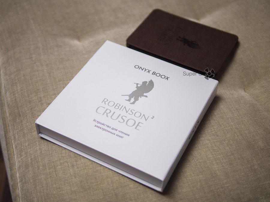 Коробка ONYX BOOX Robinson Crusoe 2 - распаковка читалки
