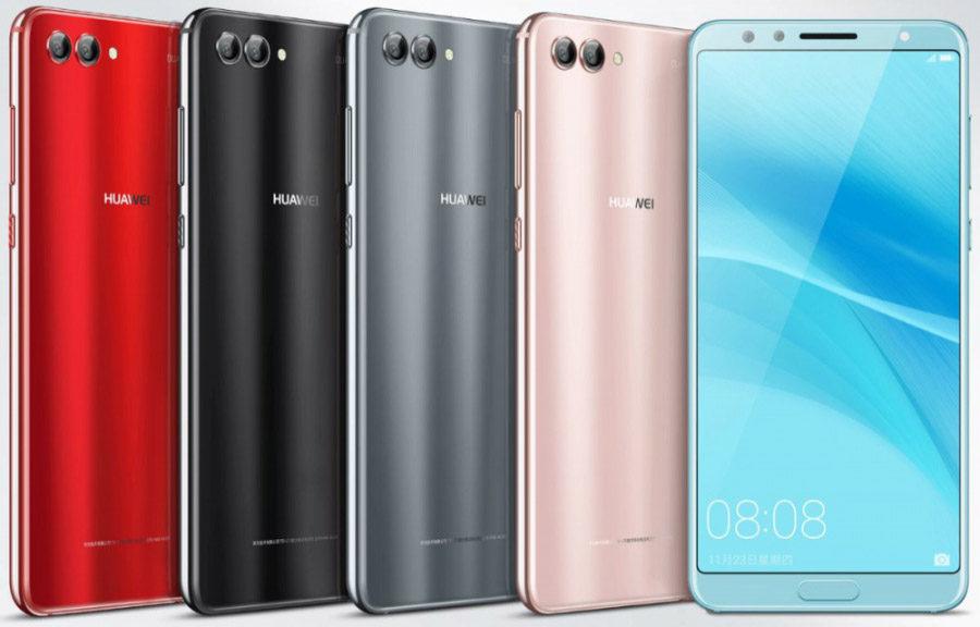 Huawei Nova 2s цвета