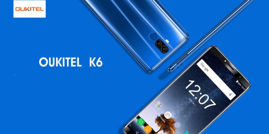 Oukitel K6 предзаказ