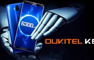 Oukitel K6 - 12 часов игры на одном заряде