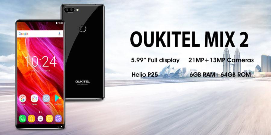 Камера Oukitel MIX 2 - какая она (первые тесты)