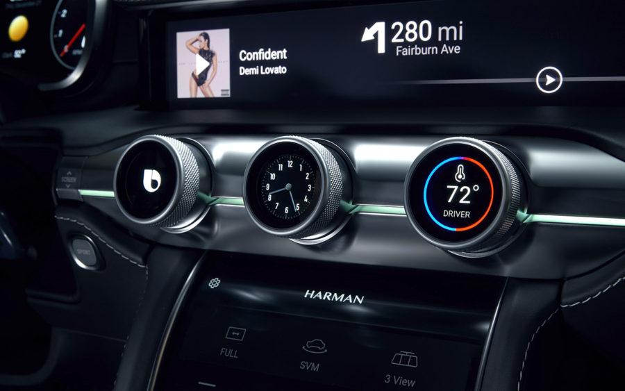 Digital Cockpit платформа для автомобилей от Samsung и Harman