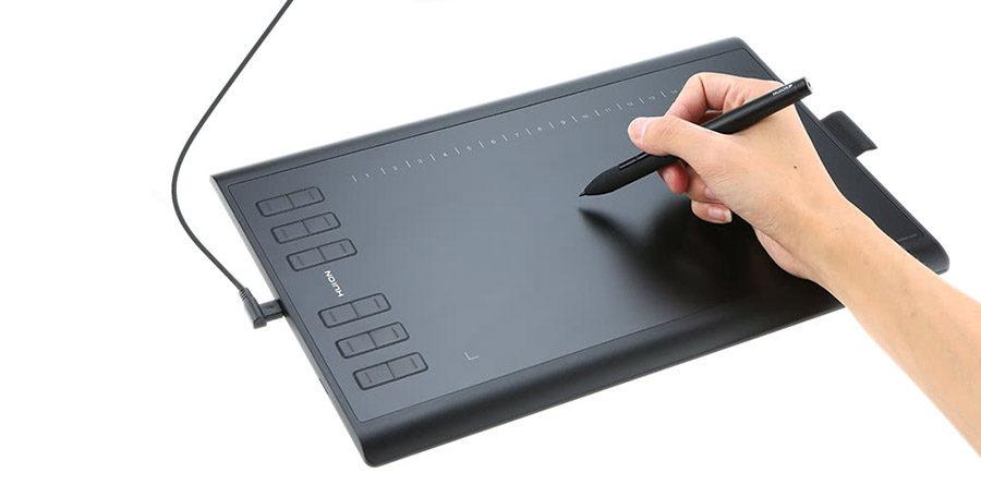 Краткий обзор графический планшета Huion 1060 Plus