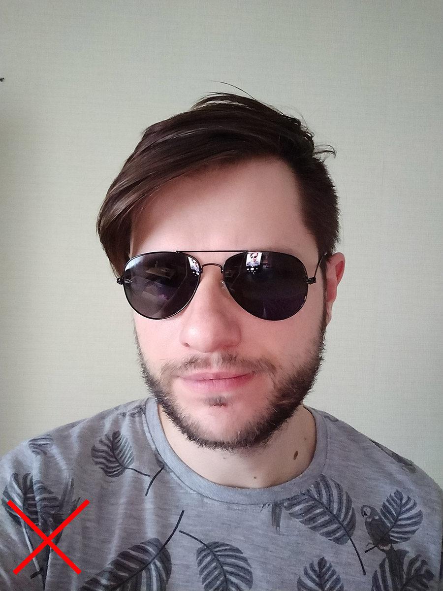Надел солнцезащитные очки - разблокировка OnePlus 5T по лицу недоступна