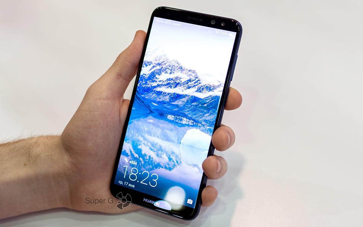 Обзор смартфона Huawei Nova 2i — классный экран и все