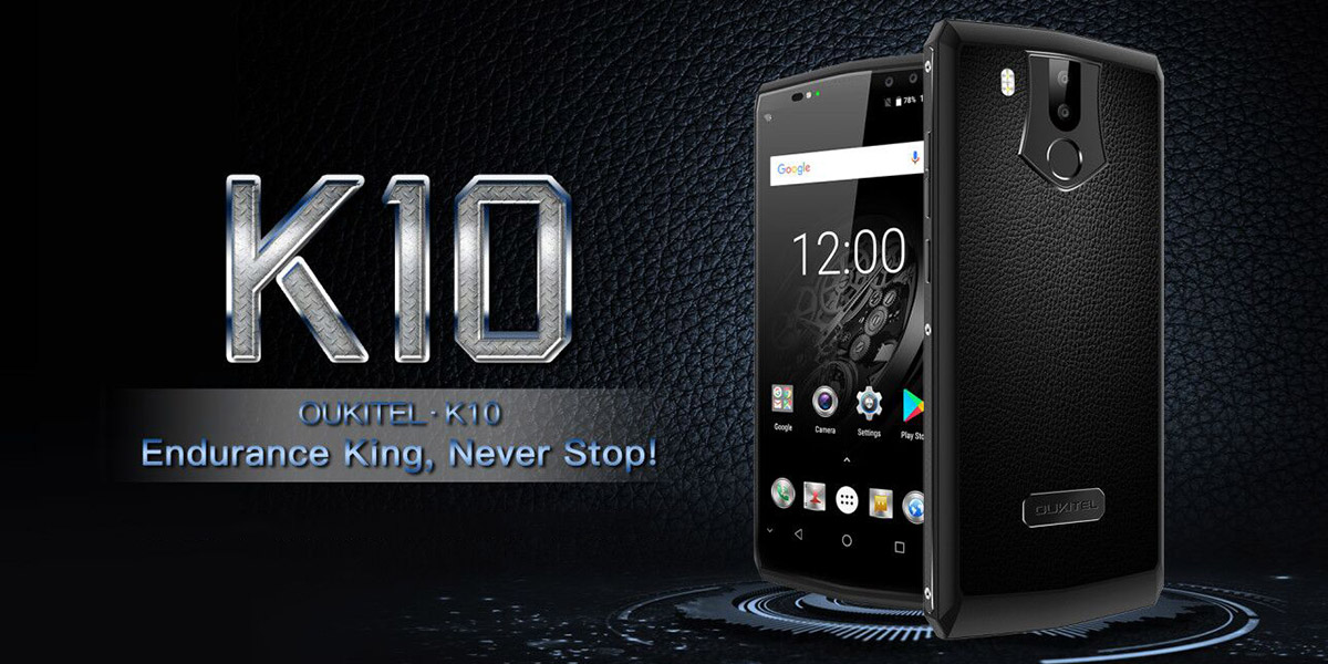 OUKITEL K10 быстрая зарядка flash charge