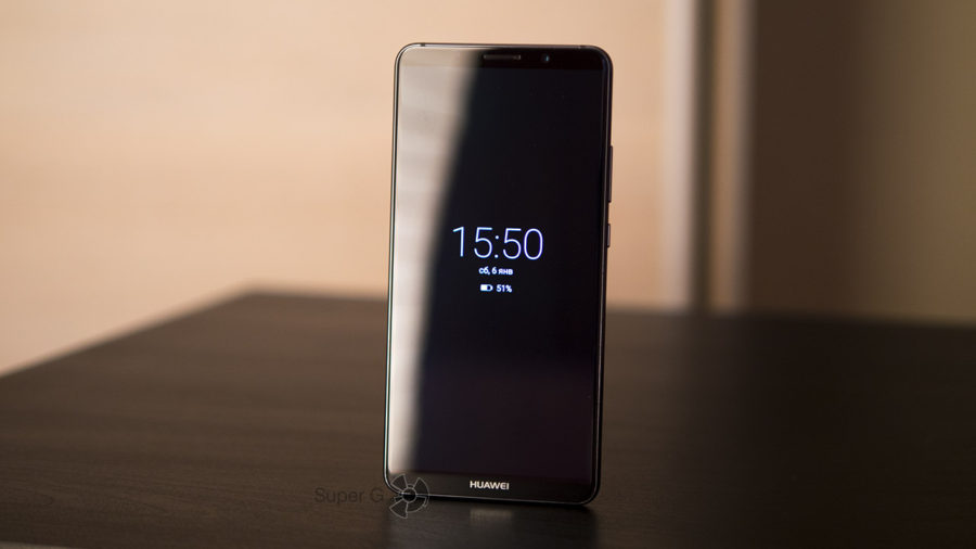 Always on Display в Huawei Mate 10 Pro