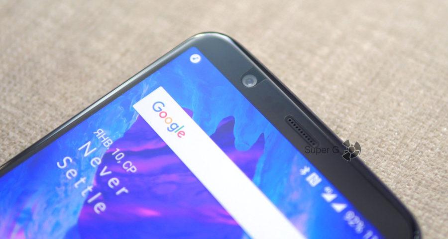 OnePlus 5T прямо с завода поставляется в защитной плёнке