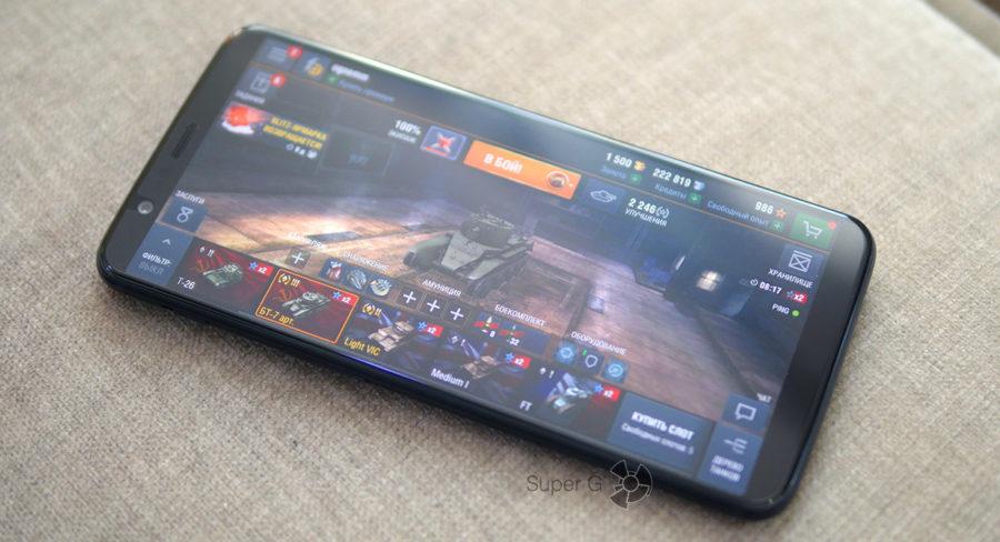 OnePlus 5T в играх