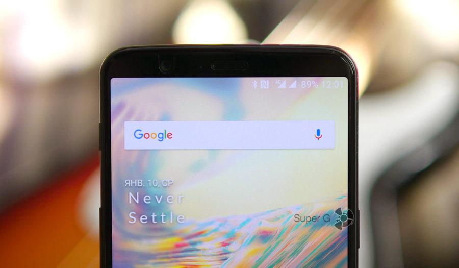 Экран 18:9 в OnePlus 5T