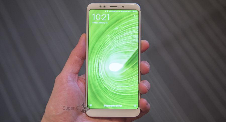 Xiaomi Redmi 5 Plus с экраном 6 дюймов и соотношением сторон 18:9