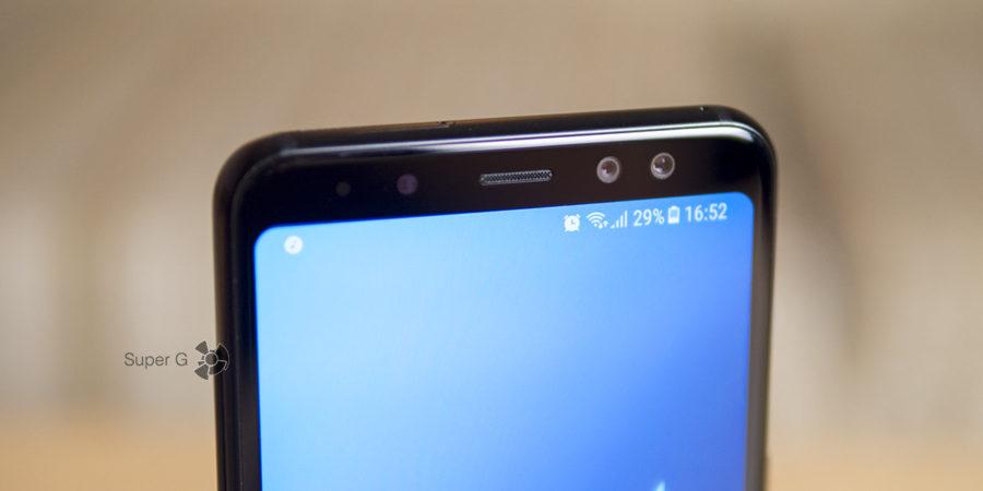 Samsung Galaxy A8 (2018) с двумя фронтальными камерами - тест, примеры фото