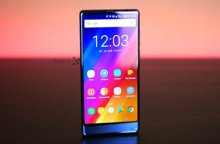 Обзор Oukitel MIX 2 - я сошёл с ума, но мне нравится этот смартфон!
