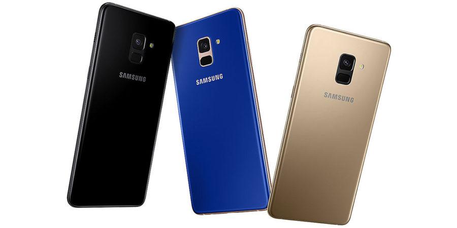 Samsung Galaxy A8 (2018) цвета корпуса