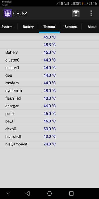 Huawei Mate 10 Pro нагревается