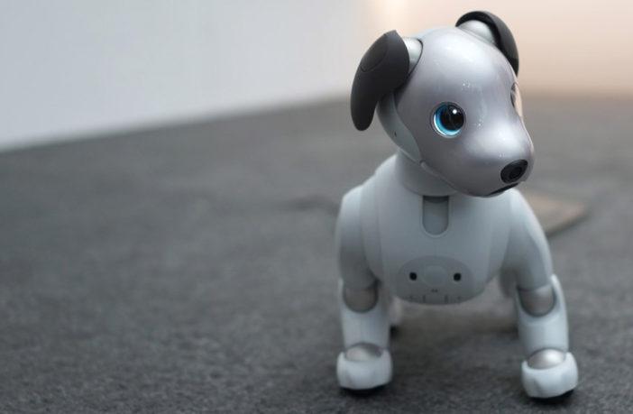Sony Aibo 2018 Dog Toy CES 2018