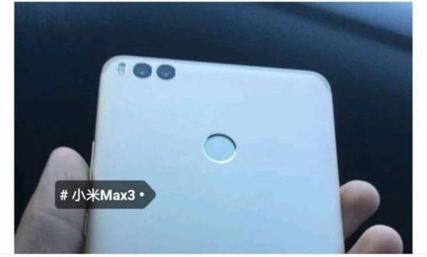Xiaomi Mi Max 3 камеры