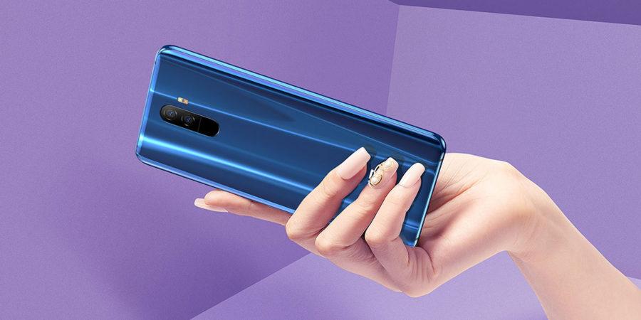Elephone U синий