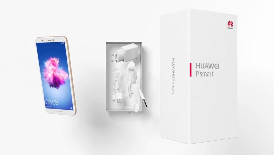 Huawei P smart комплектация