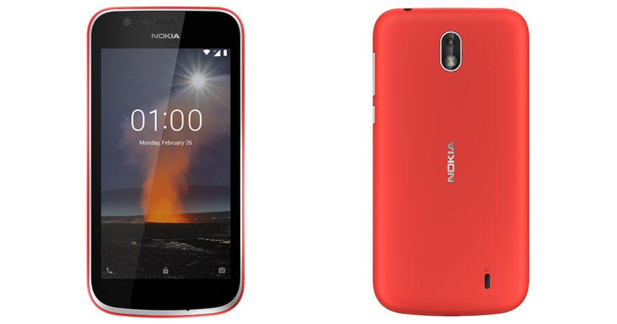 Nokia 1 на Android Go цена и дата выхода