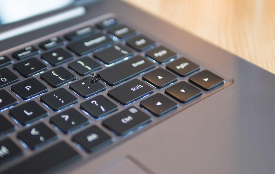 Слишком короткий Shift на клавиатуре Xiaomi Mi Notebook Pro (правый)
