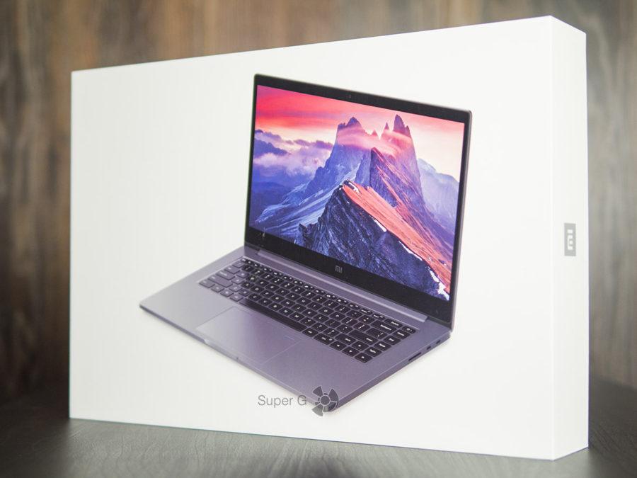 Коробка от Xiaomi Mi Notebook Pro