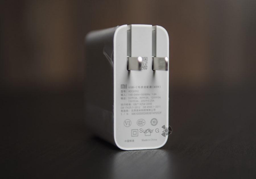 Блок питания для зарядки Xiaomi Mi Notebook Pro
