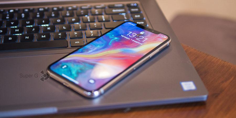 OLED-дисплей iPhone X