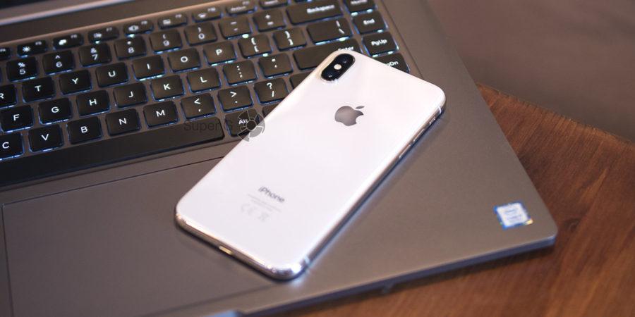 iPhone X и подключение к компьютеру