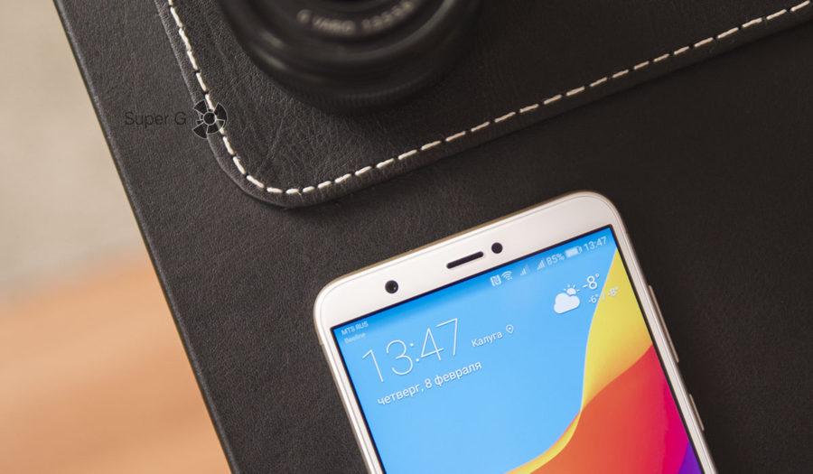 Фронтальная камера Huawei P smart делает отличные селфи